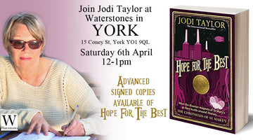 Book Signing at Waterstones, York Saturday April 6th