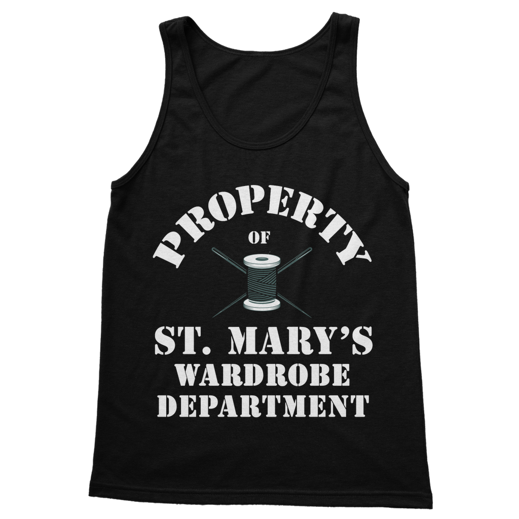 Property Of St Mary's Wardrobe Department (UK) Classic Adult Vest Top - Jodi Taylor