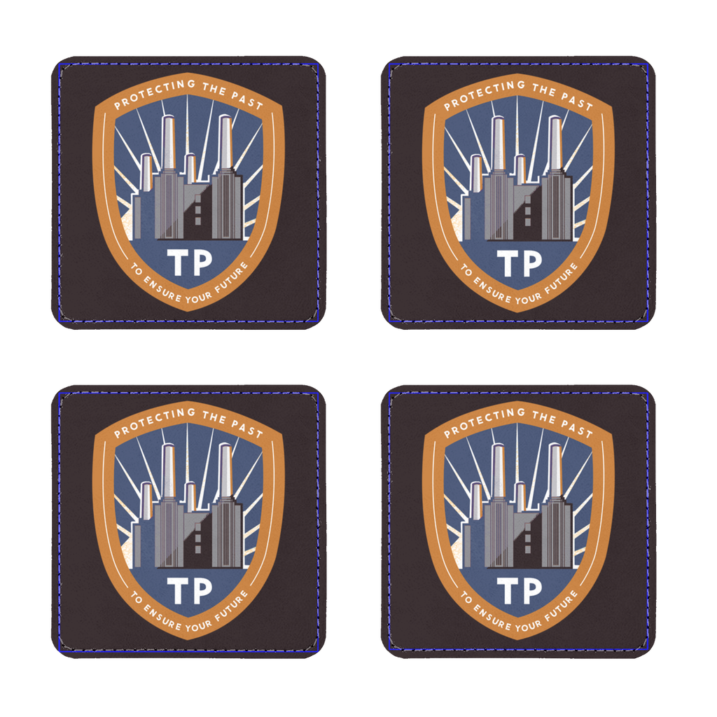 Time Police Merchandise (UK) Coasters Pack of Four - Jodi Taylor