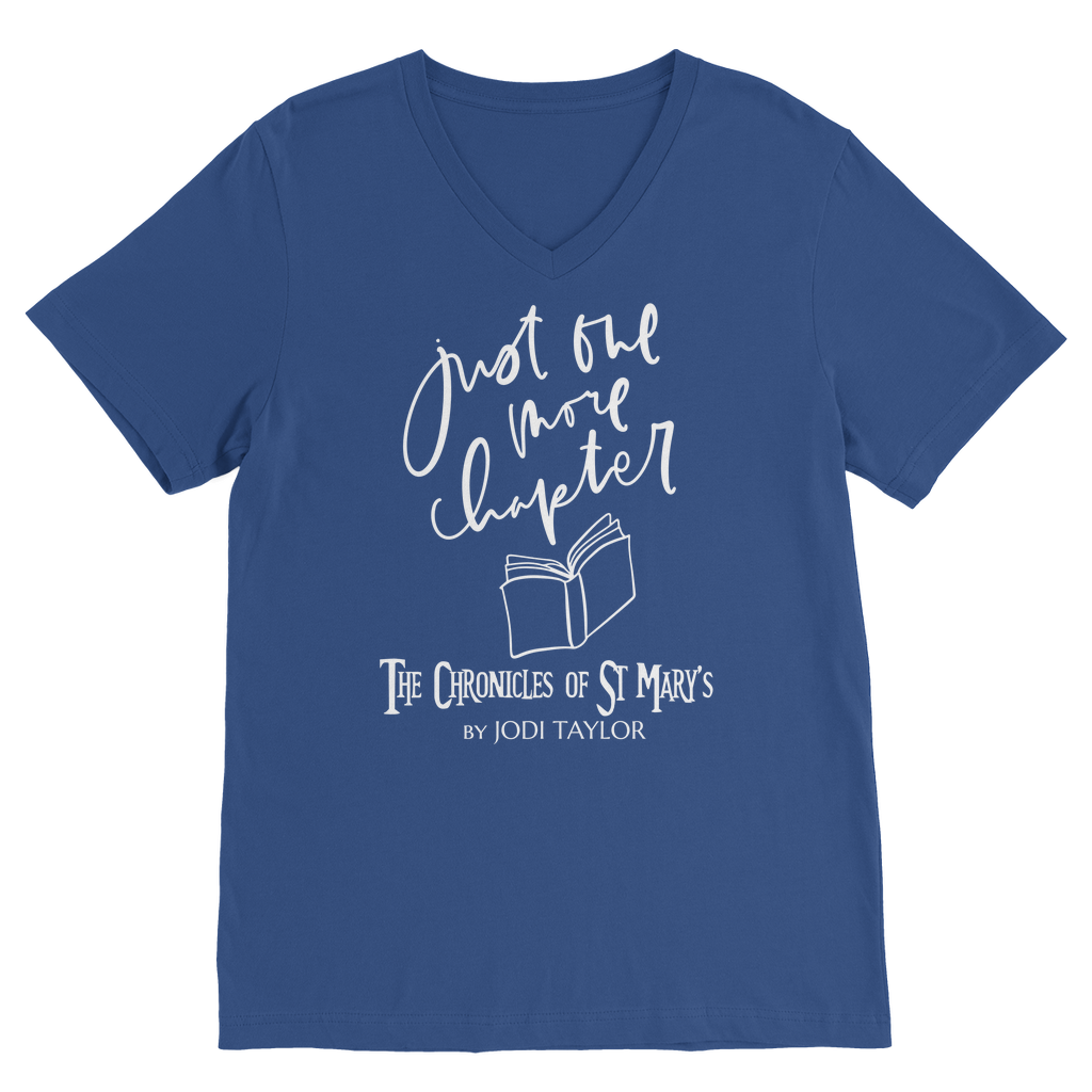 Just One More Chapter (UK) Classic V-Neck T-Shirt - Jodi Taylor