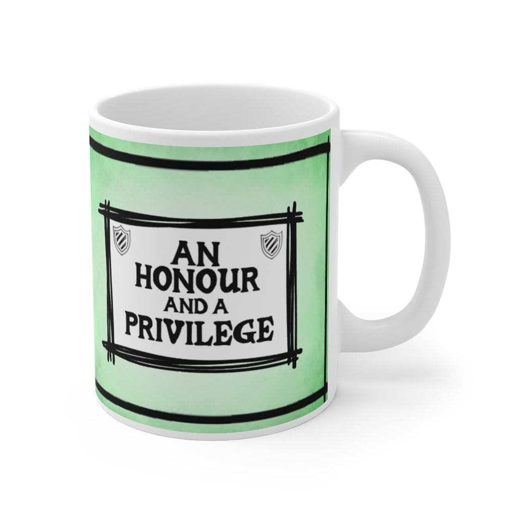 An Honour and a Privilege - St Mary's Quotes Range Mug (UK) - Jodi Taylor