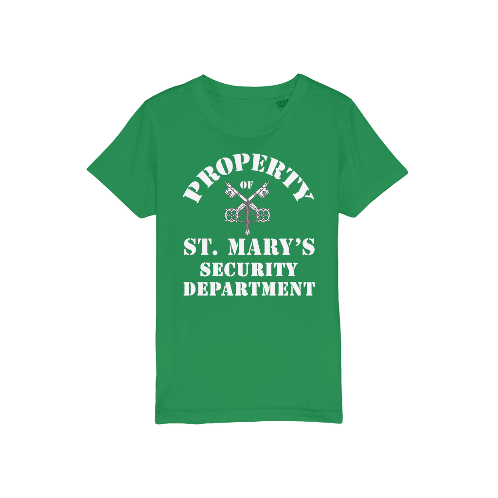 Property of St Mary's Security Department (UK) Organic Jersey Kids T-Shirt - Jodi Taylor