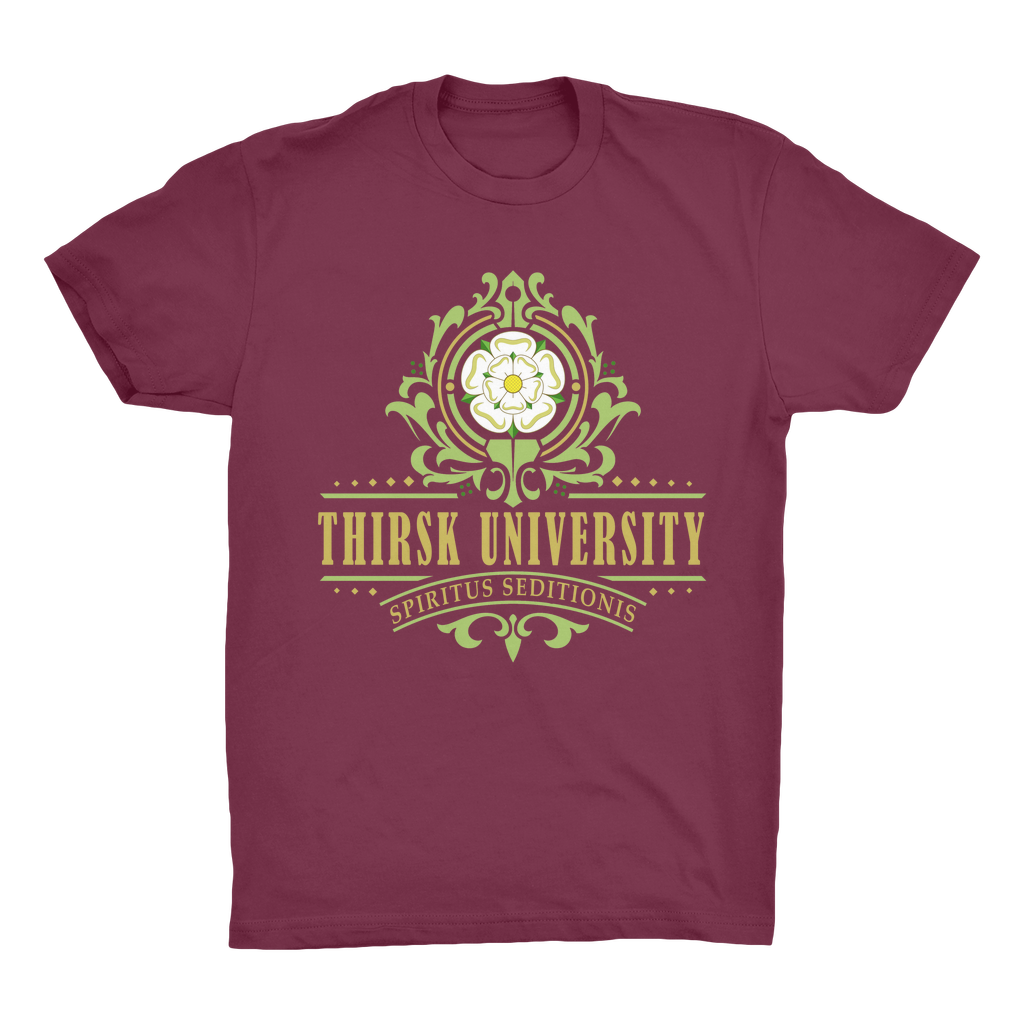 Thirsk University (UK) Organic Adult T-Shirt - Jodi Taylor