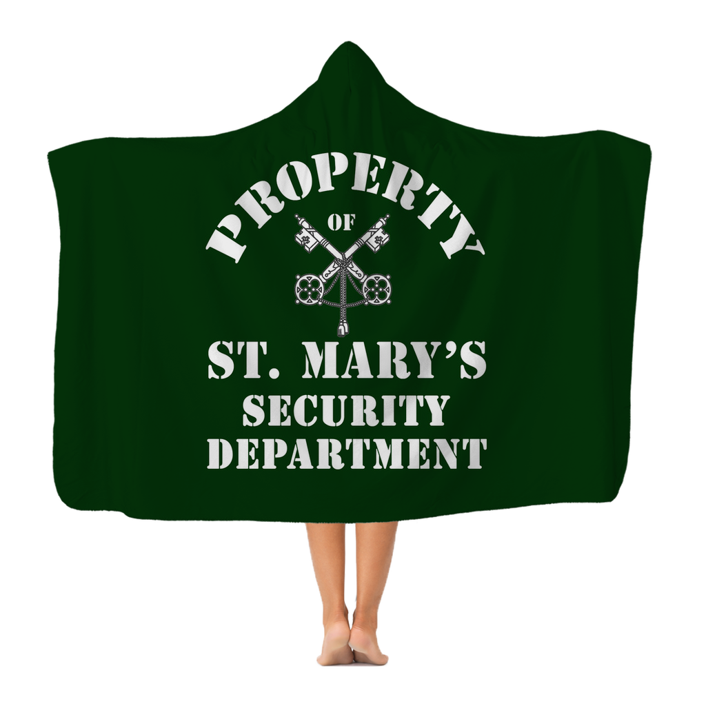 Property of St Mary's Security Department (UK) Adult Hooded Blanket - Jodi Taylor