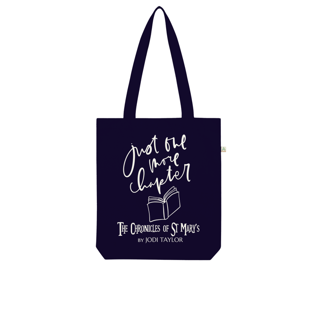 Just One More Chapter (UK) Organic Tote Bag - Jodi Taylor