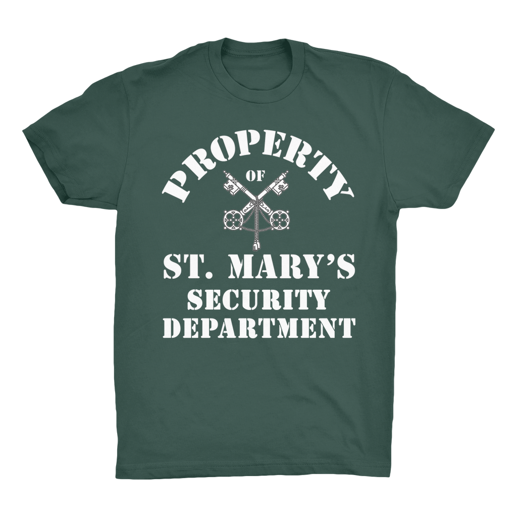 Property of St Mary's Security Department (UK) Organic Adult T-Shirt - Jodi Taylor