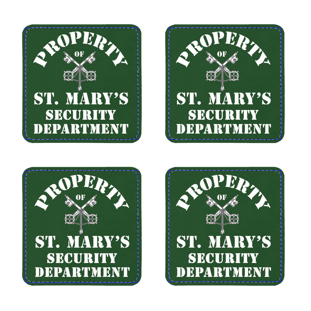 Property of St Mary's Security Department (UK) Coasters Pack of Four - Jodi Taylor