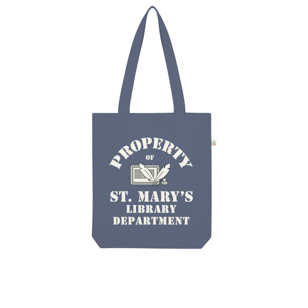 Property Of St Mary's Library Department (UK) Organic Tote Bag - Jodi Taylor