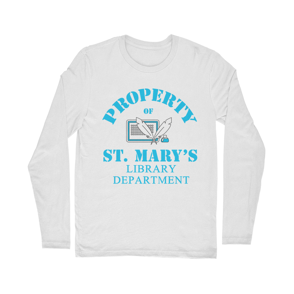 Property Of St Mary's Library Department (UK) Classic Long Sleeve T-Shirt - Jodi Taylor