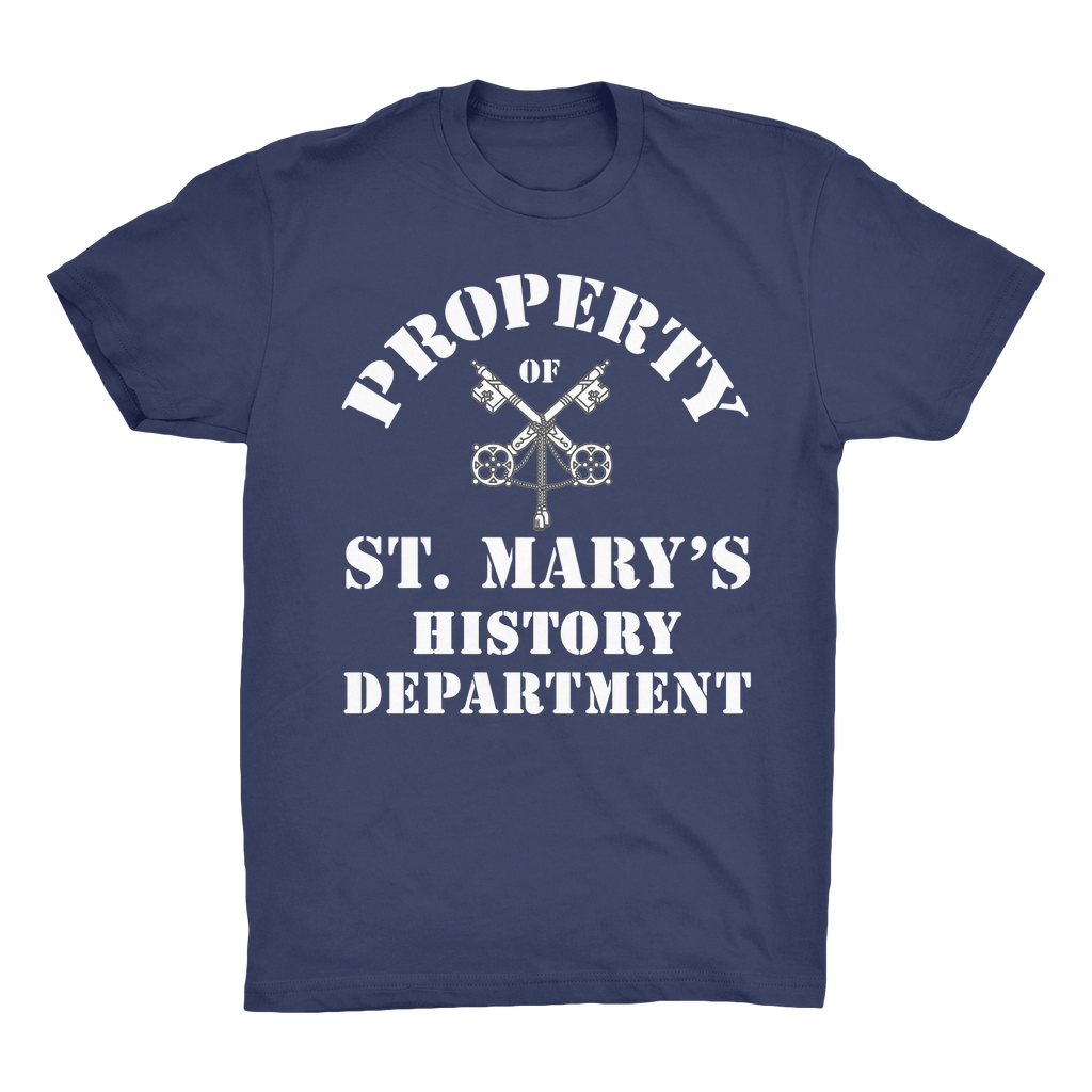 Property of St Mary's History Department (UK) Organic Adult T-Shirt - Jodi Taylor