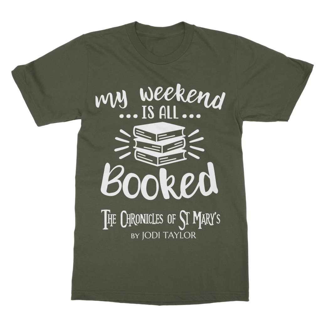 My Weekend Is All Booked (UK) T-Shirt Dress - Jodi Taylor