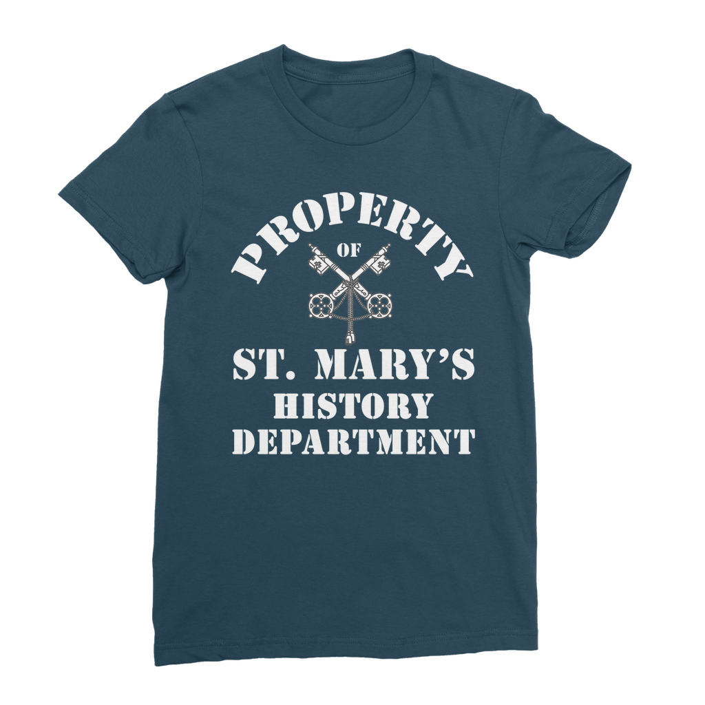 Property of St Mary's History Department (UK) Classic Women's T-Shirt - Jodi Taylor
