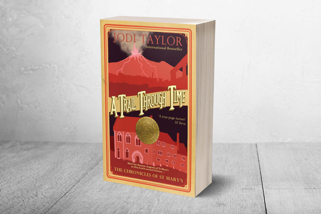 A Trail Through Time - Signed Copy (UK) - Jodi Taylor