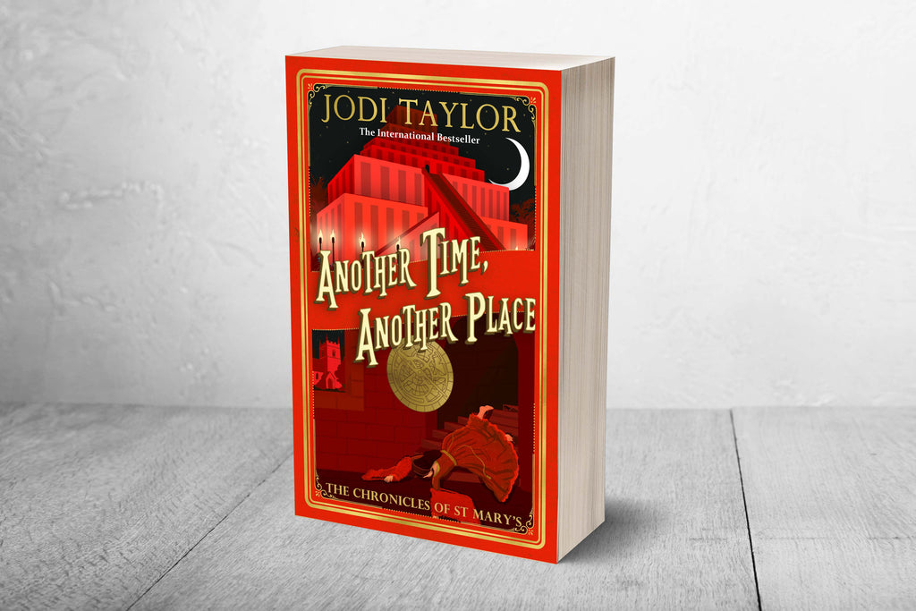 Another Time Another Place Signed Paperback (UK) - Jodi Taylor