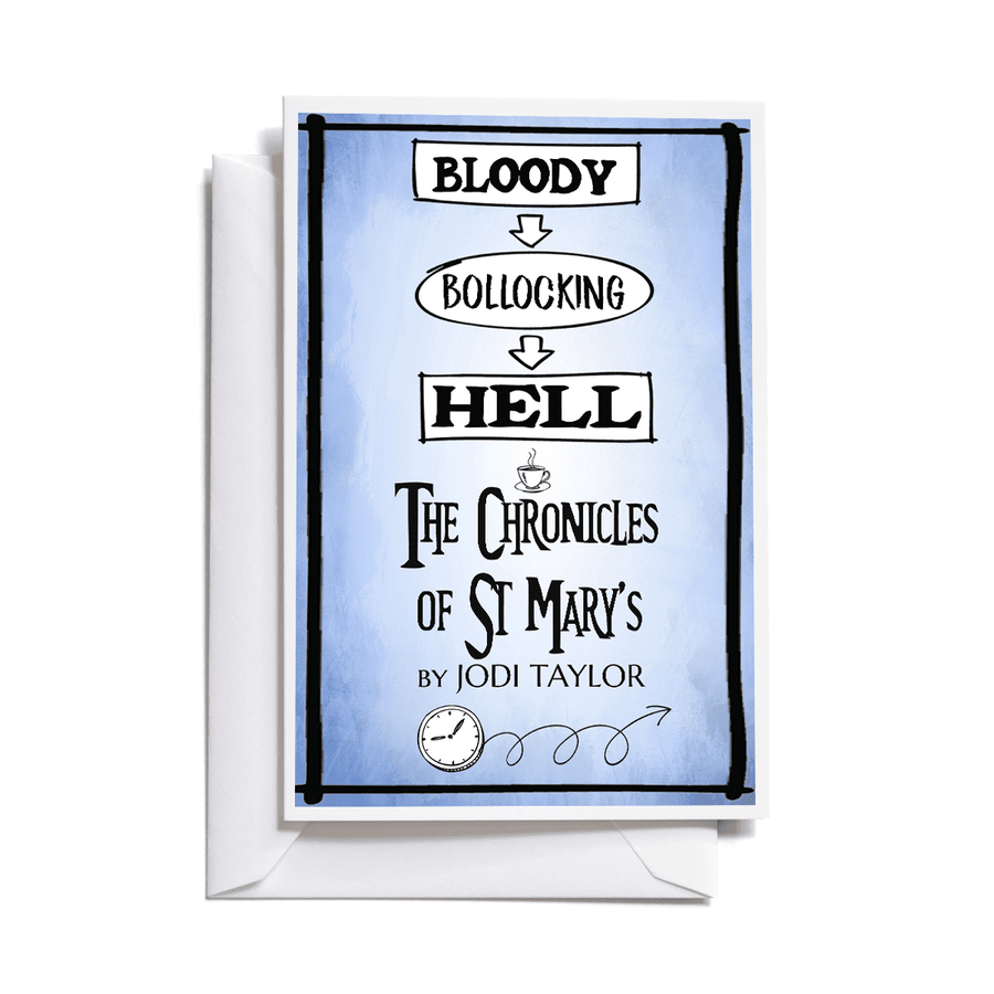 Bloody Bollocking Hell St Mary's Quotes Greeting Card