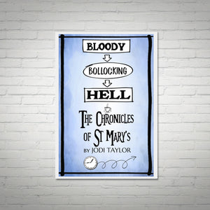 Bloody Bollocking Hell - St Mary's Quotes Range A3 Poster