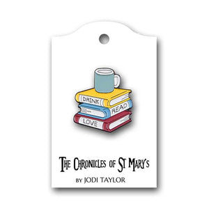 Book Lovers Pin Badges