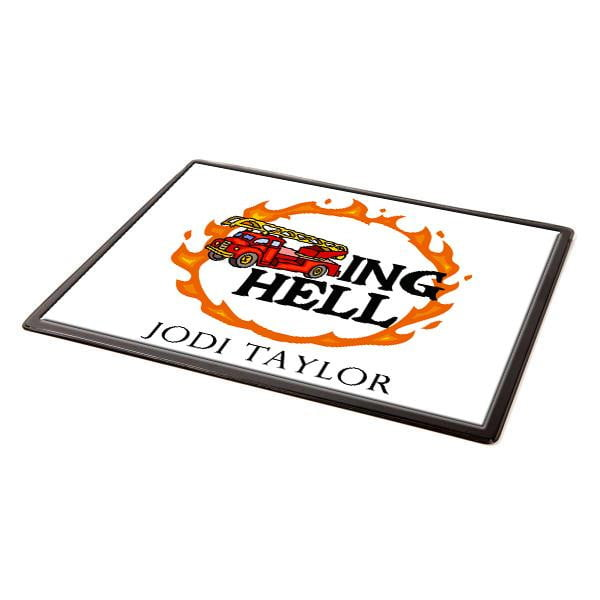Fire Trucking Hell Mouse Mat
