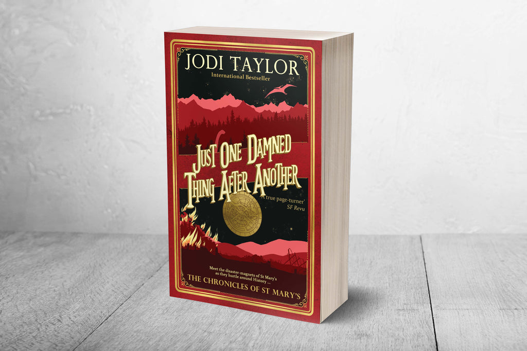Just One Damned Thing After Another - Signed Copy (UK) - Jodi Taylor