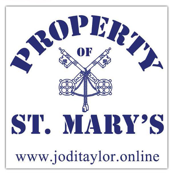 Property of St Mary's Stickers