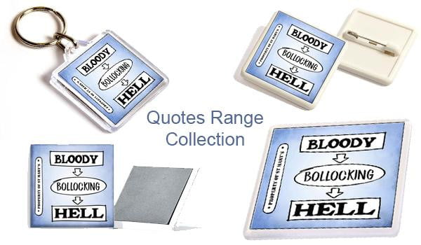 St Mary's Quotes Accessories Collection