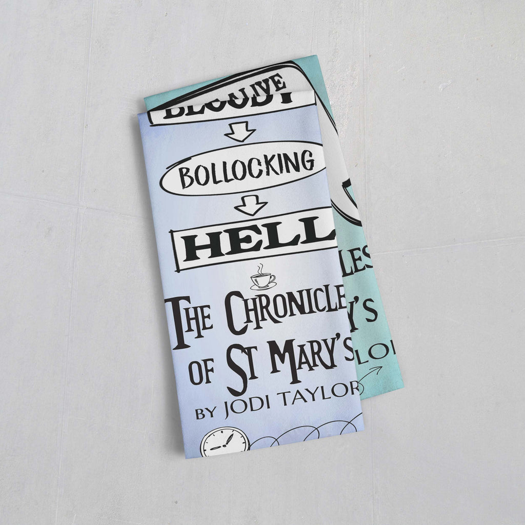 Tea Towels - Quotes Range - Jodi Taylor