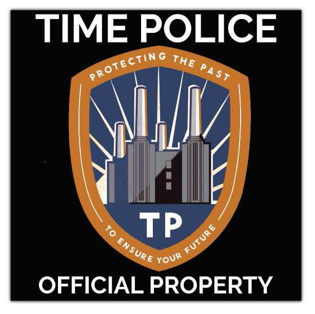 Official Property Time Police Stickers