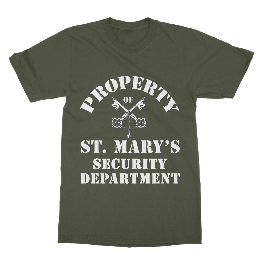 Property of St Mary's Security Department (UK) T-Shirt Dress - Jodi Taylor