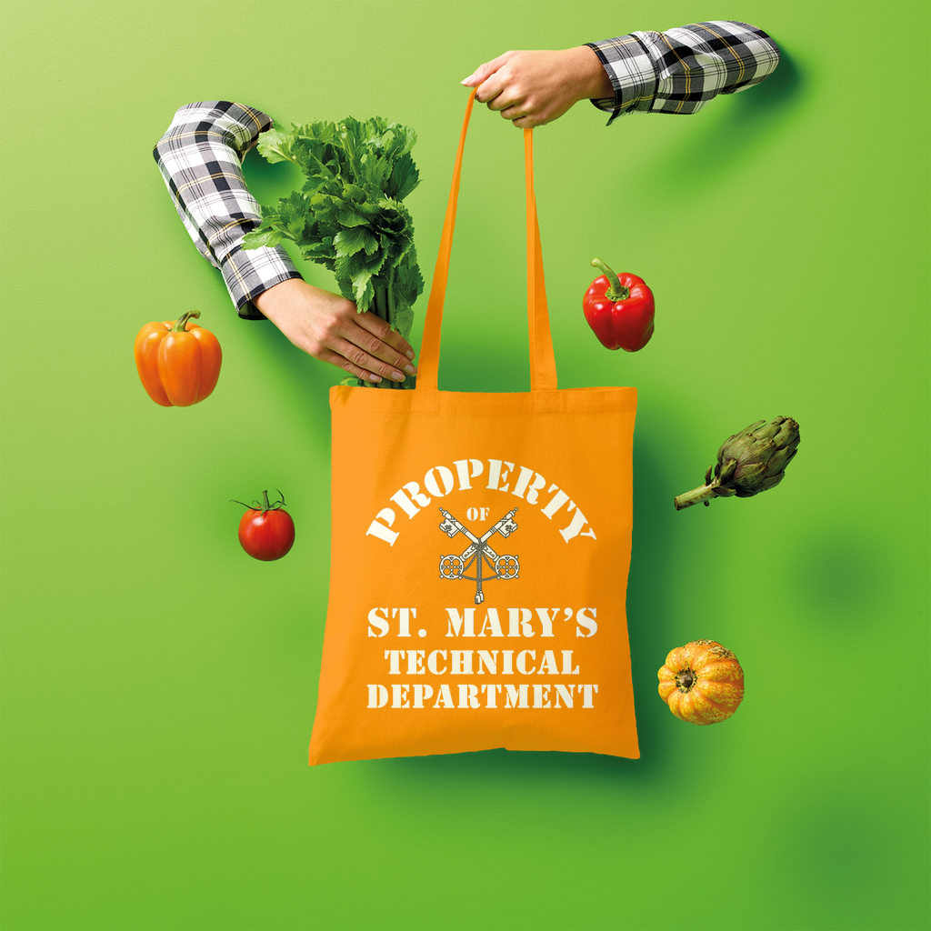 Property of St Mary's Technical Department (UK) Shopper Tote Bag - Jodi Taylor
