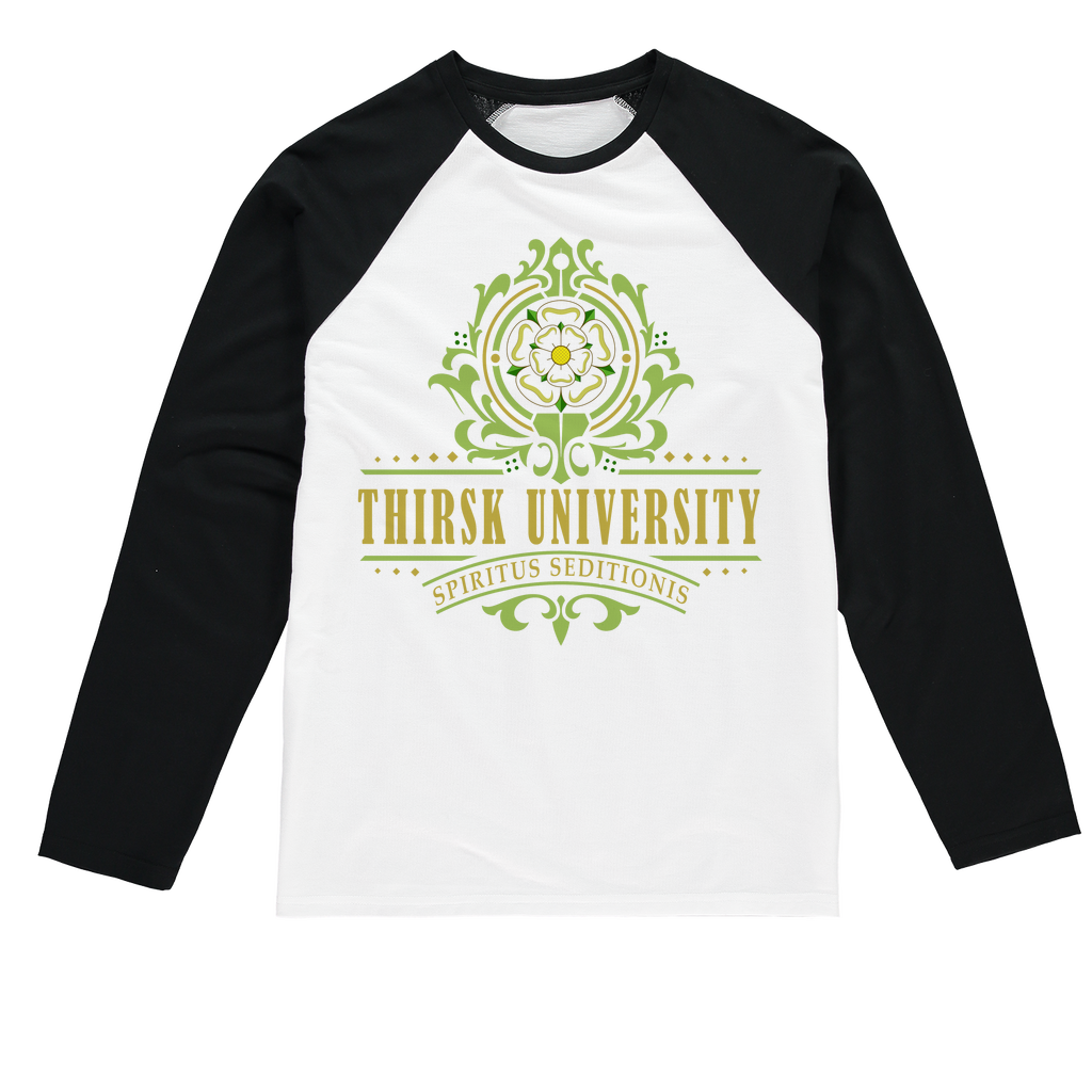 Thirsk University (UK) Baseball Long Sleeve T-Shirt - Jodi Taylor