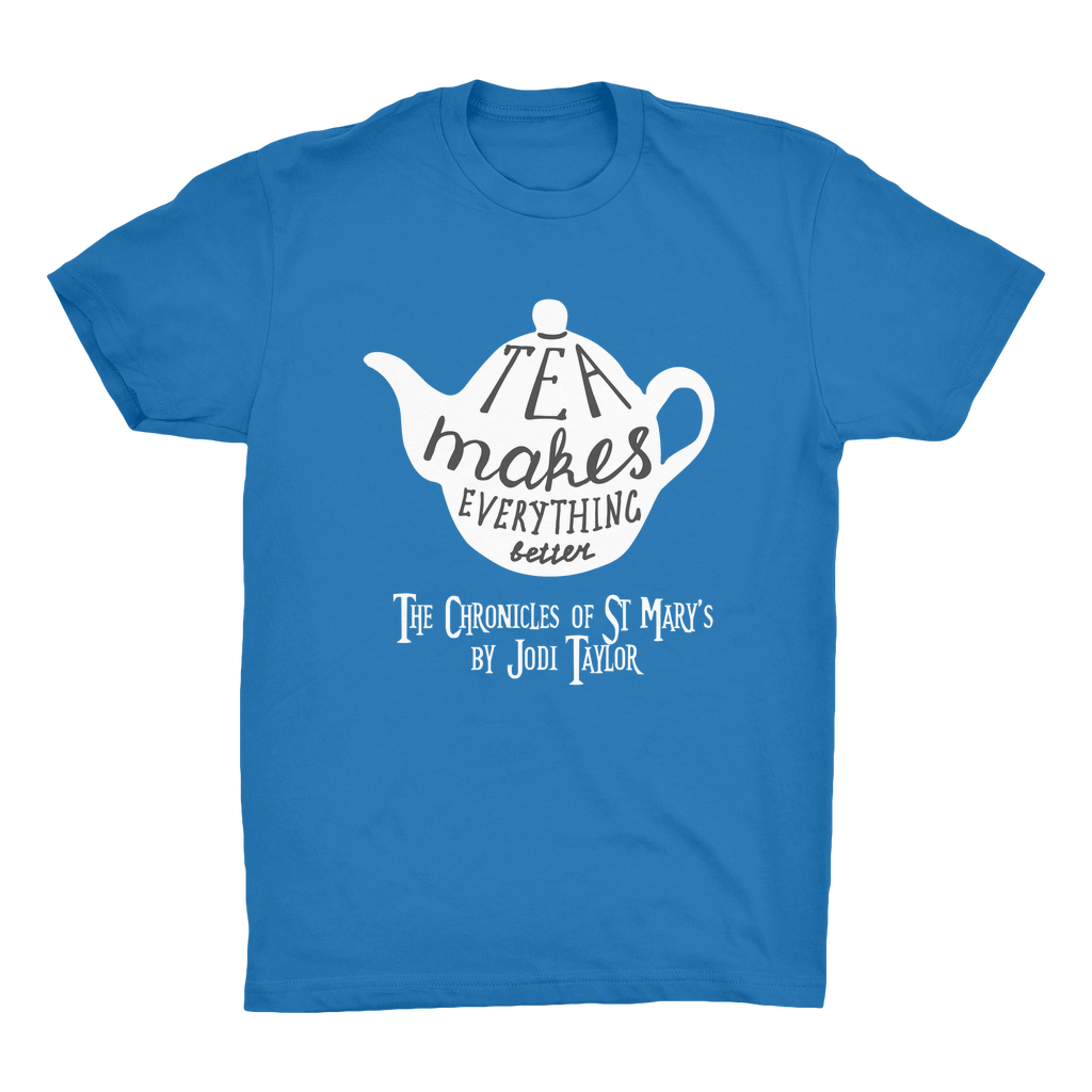 Tea Makes Everything Better (UK) Organic Adult T-Shirt - Jodi Taylor