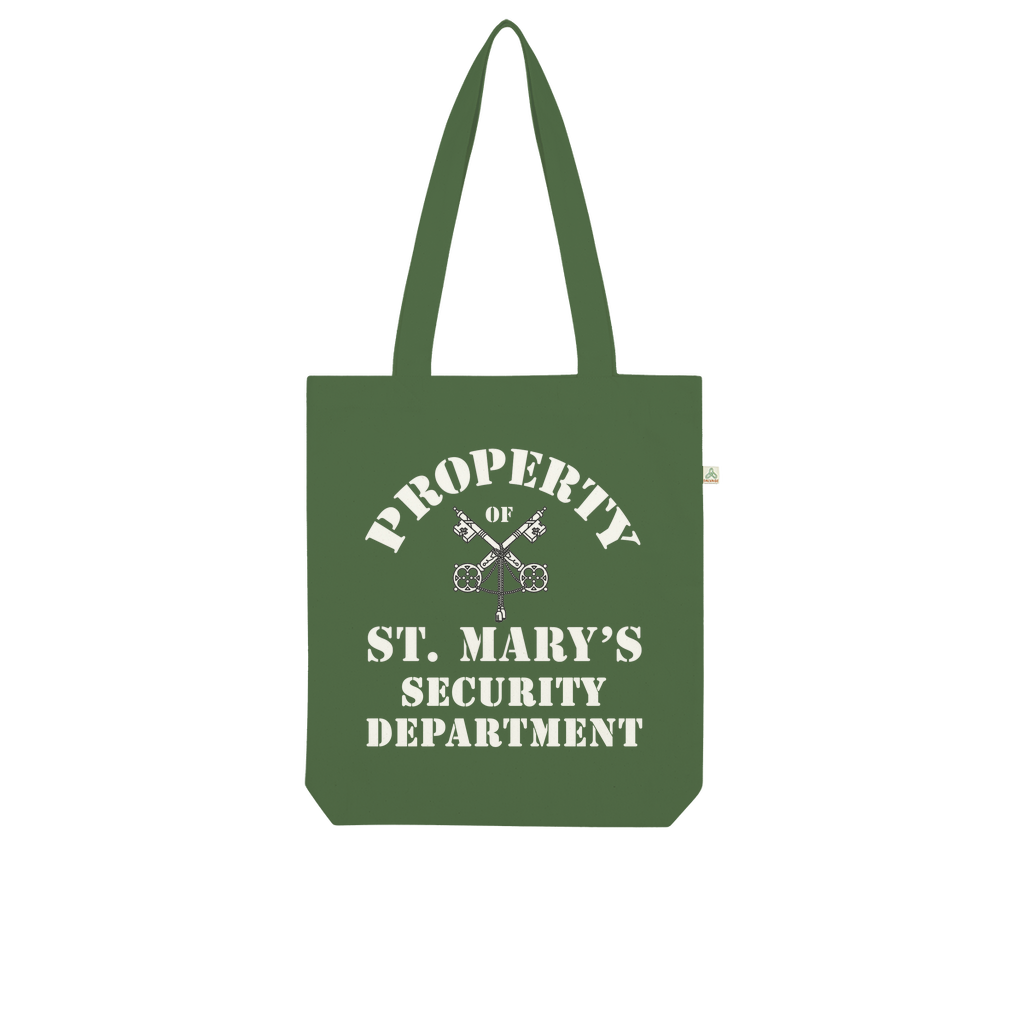 Property of St Mary's Security Department (UK) Organic Tote Bag - Jodi Taylor