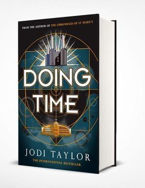 Signed copy of Doing Time Hardback and FREE Sticker bundle