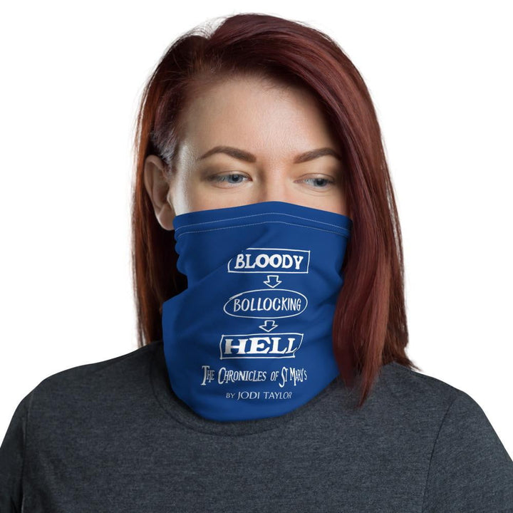 Bloody Bollocking Hell Quotes Range Neck Gaiter