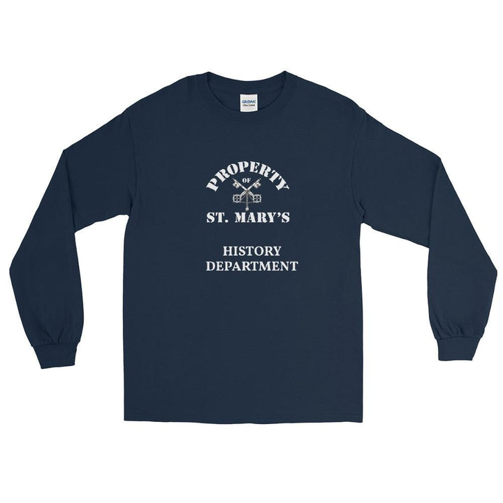 HISTORY DEPARTMENT Long Sleeve T-Shirt