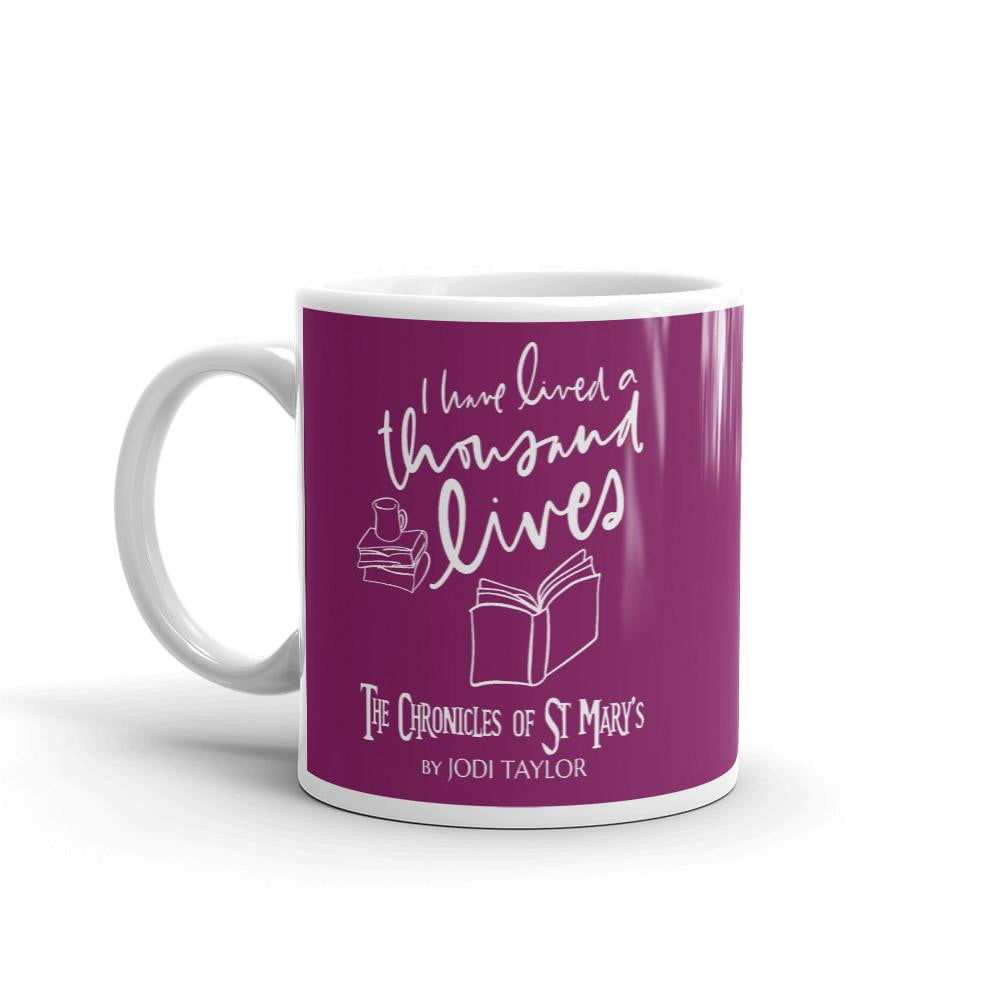 I Have Lived A Thousand Lives Mug (Europe, USA & Australia) - Jodi Taylor