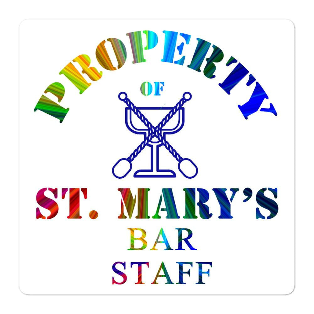 Bar Staff Department Bubble-free stickers - Jodi Taylor