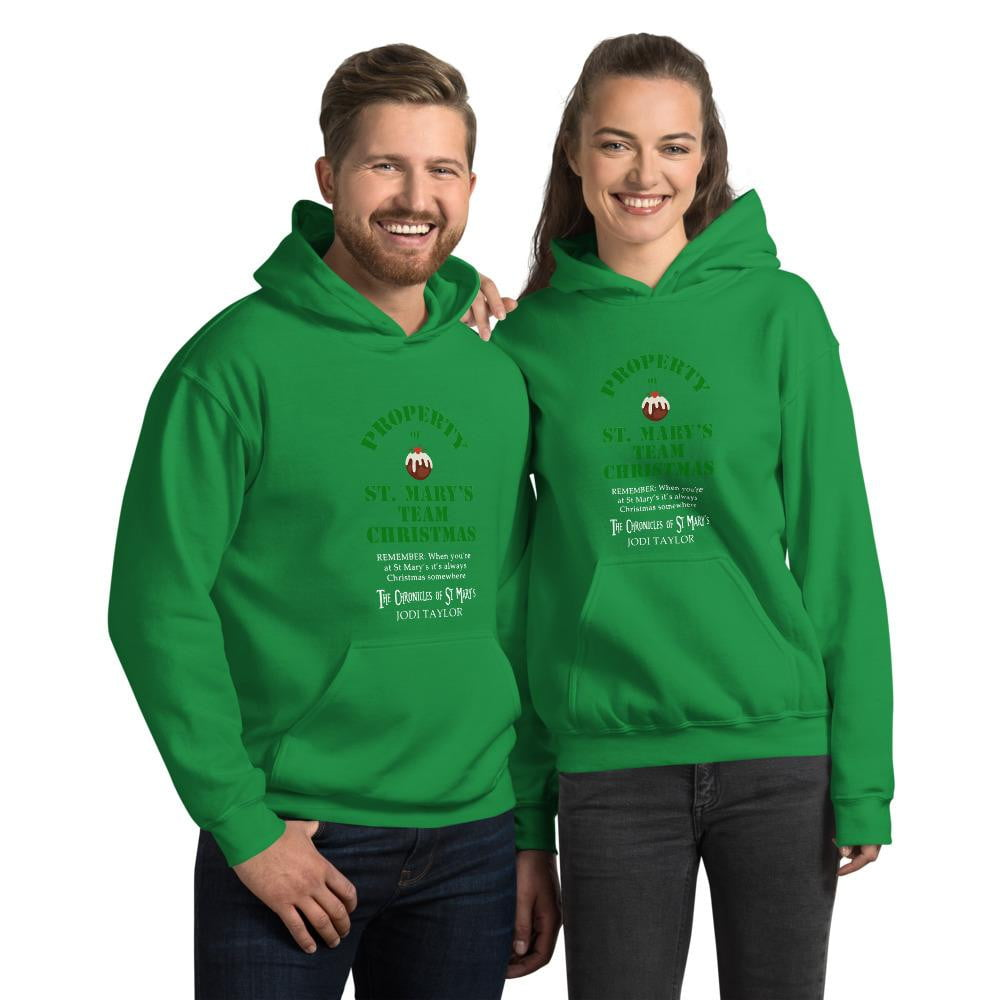 Team Christmas Unisex Hoodie (Europe & USA) - Jodi Taylor