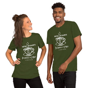 We're St Mary's - We Run on Tea Quotes Range Short-Sleeve Unisex T-Shirt