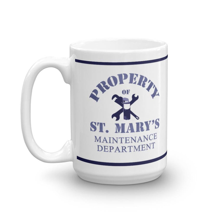 Property of St Mary's Maintenance Department Mug - Jodi Taylor