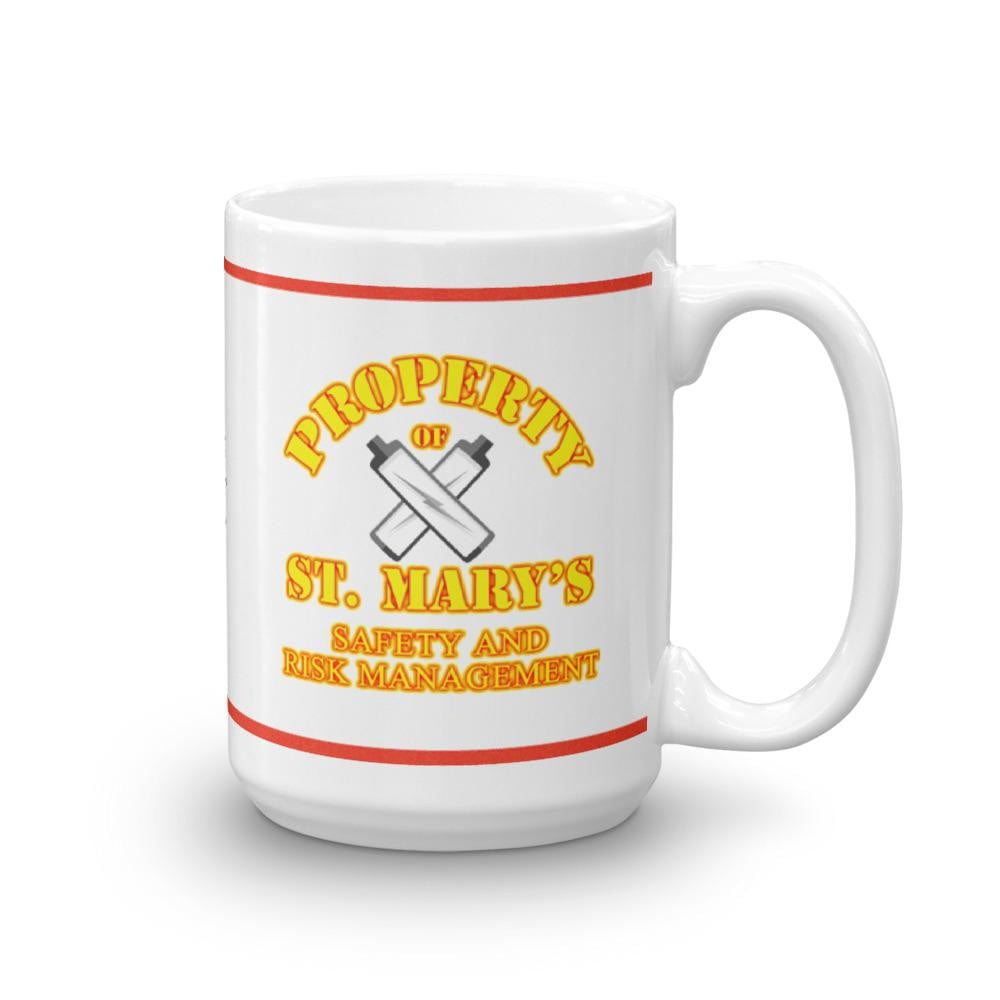 Property of St Mary's Safety & Risk Management Department Mug - Jodi Taylor