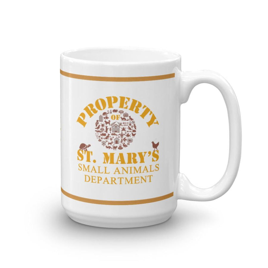 Property of St Mary's Small Animals Department Mug