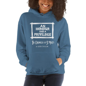 An Honour and a Privilege Quotes Range Unisex Hoodie