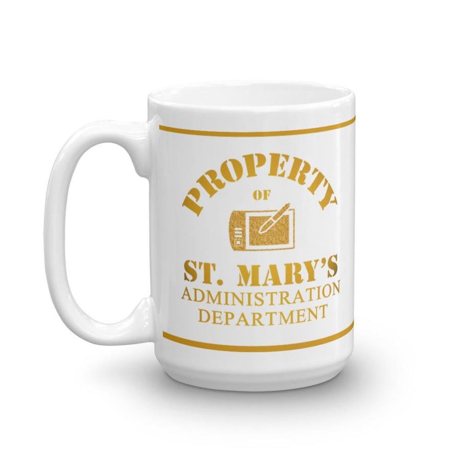 Property of St Mary's Administration Department Mug - Jodi Taylor