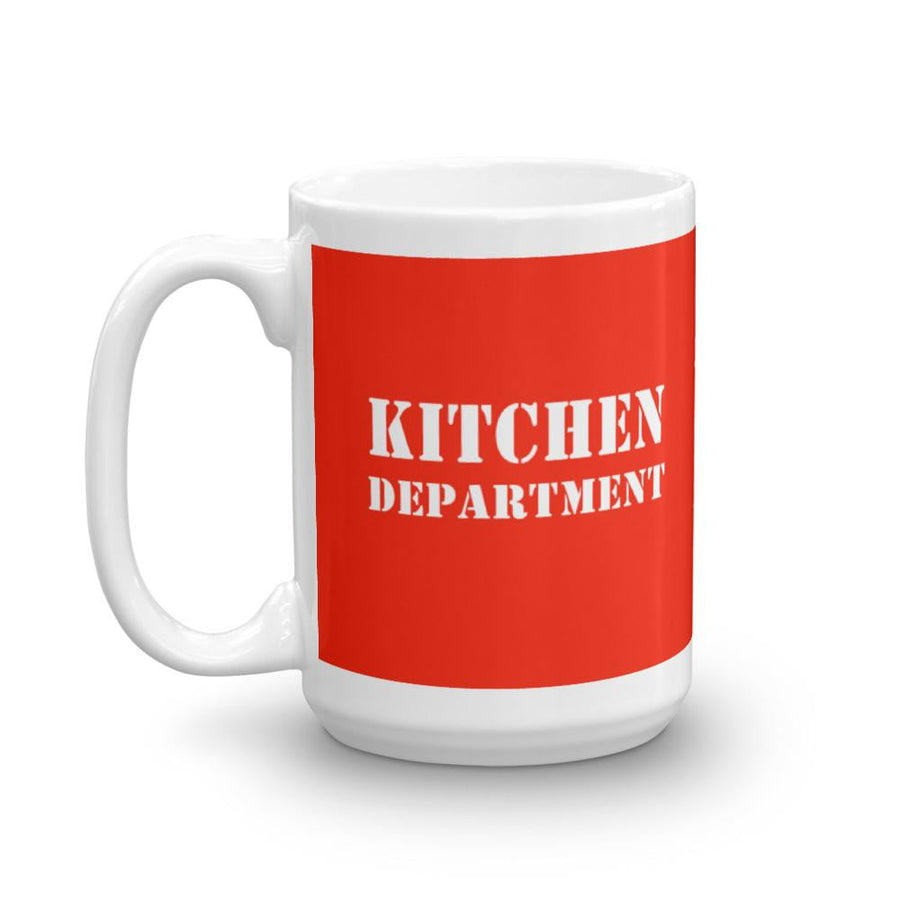 Kitchen Department Mug