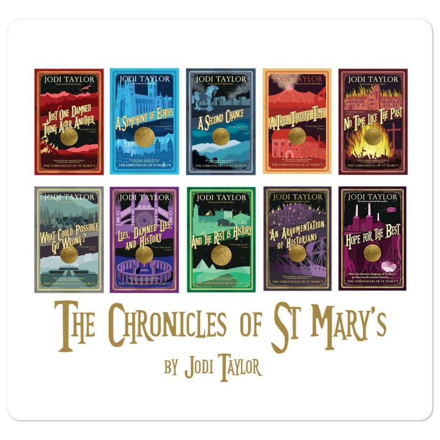 St Mary's Cover Collection Bubble-free stickers