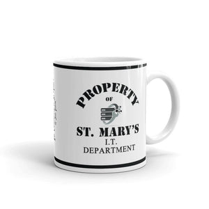 Property of St Mary's I.T Department Mug