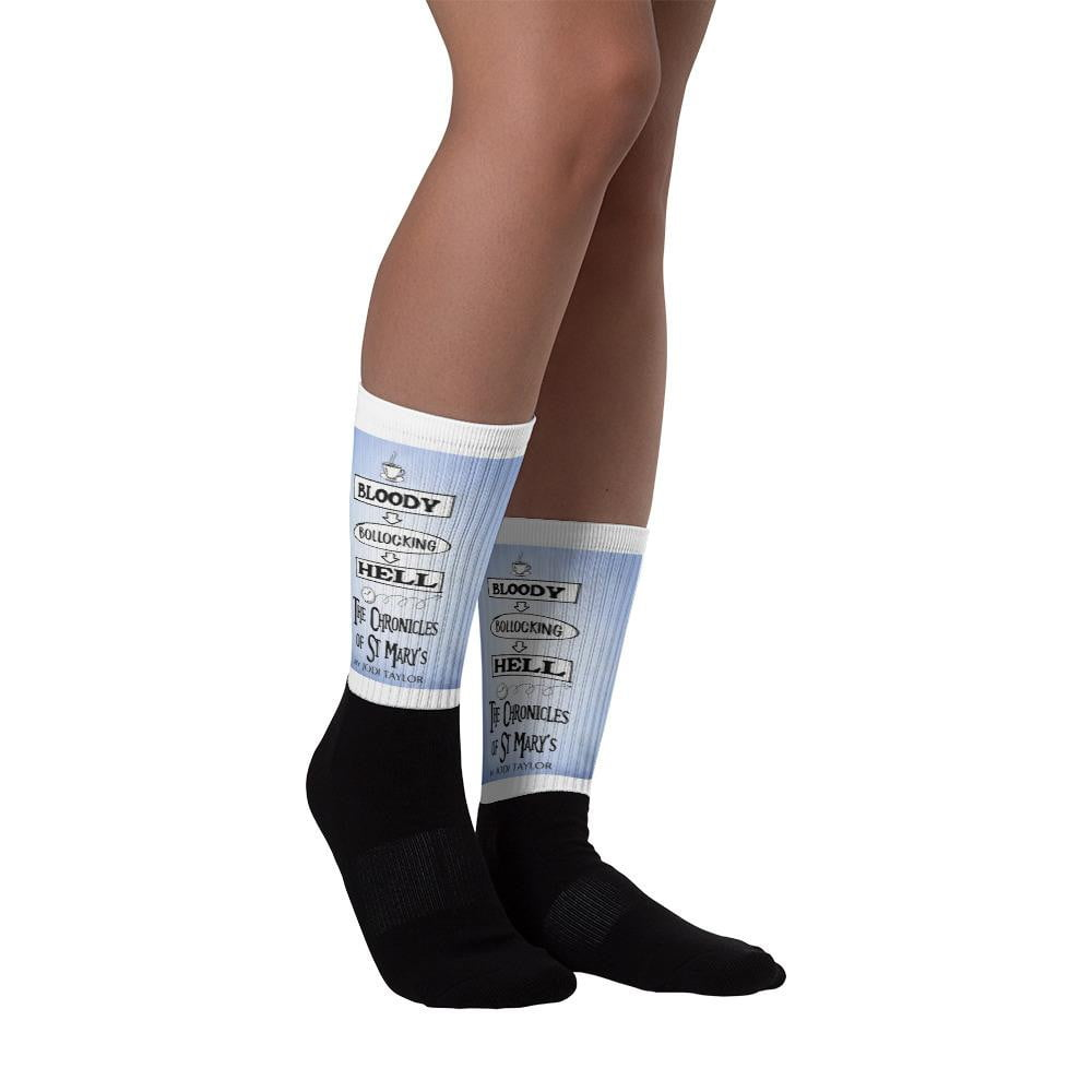 Bloody Bollocking Hell - St Mary's Quotes Range Socks - Jodi Taylor