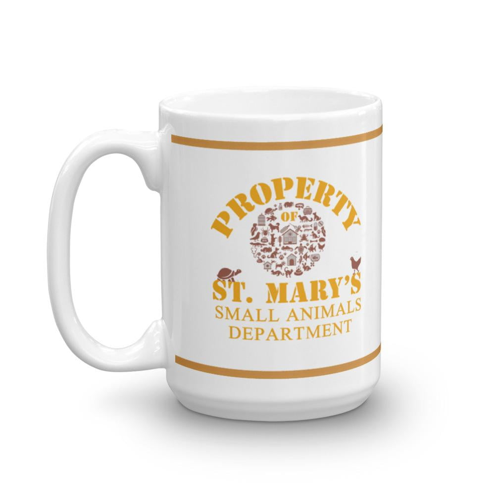Property of St Mary's Small Animals Department Mug - Jodi Taylor