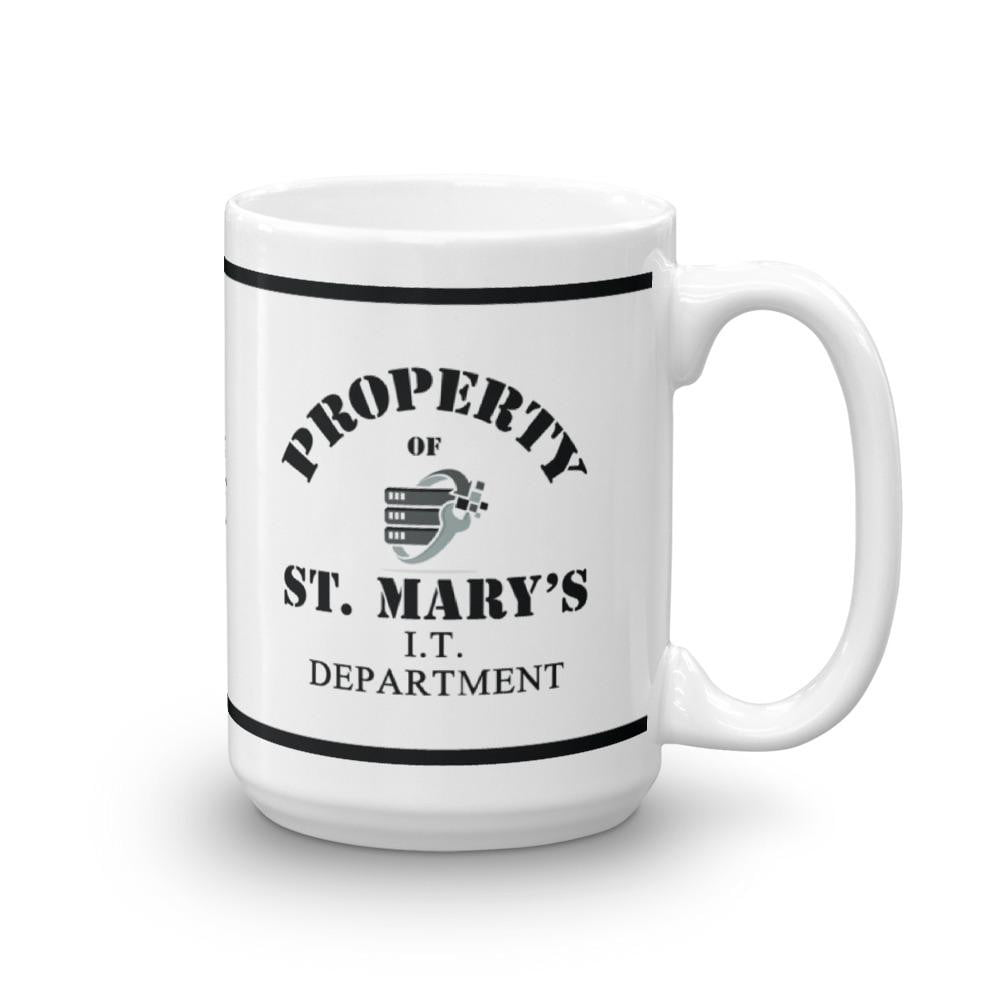 Property of St Mary's I.T Department Mug - Jodi Taylor